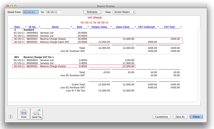 2025165 Reverse Charge Reporting For Vat on Accounting Balance Sheet Example